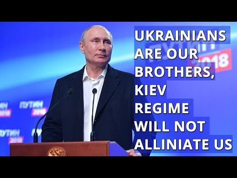 Putin Comments On Russia's Relations with China and Ukraine After His Win At The Elections