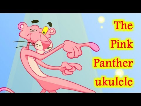The Pink Panther ukulele tabs укулеле