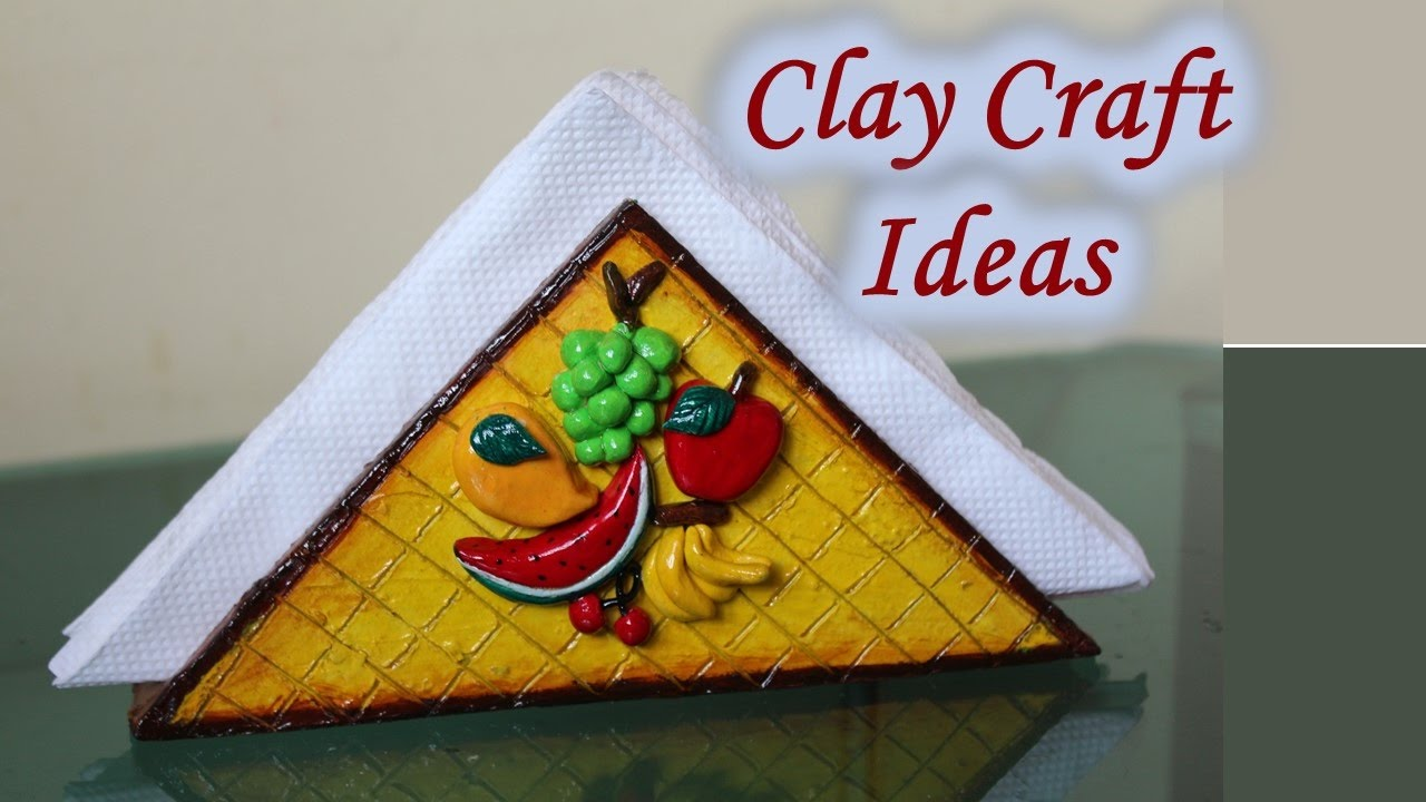 15 Beautiful Ideas For Clay Crafts My Clay Creations 2 Youtube