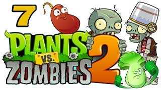 ч.07 Plants vs. Zombies 2 - Ancient Egypt - Day 6
