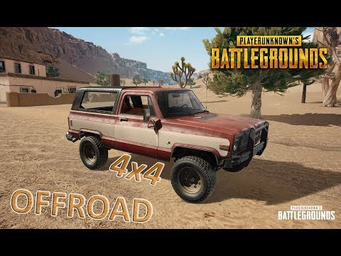 PlayerUnknown's Battlegrounds I  4x4 I OFFROAD #1