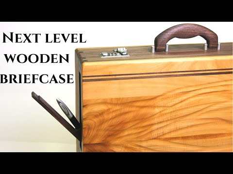 When Woodworkers Wife Wants a Briefcase / wooden briefcase