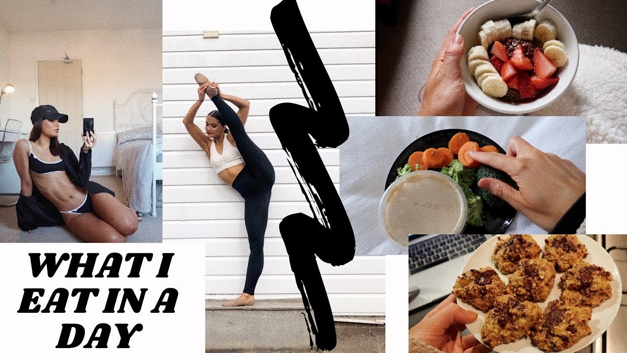 REALISTIC WHAT I EAT IN A DAY AS A DANCER! | Adina May