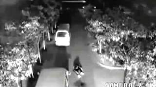 Caught On CCTV - Man Gets Struck By Lightening TWICE In One Minute