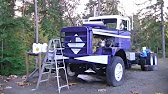 Volvo log truck - YouTube