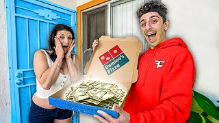 Delivering Pizza To Random People, Then Paying Their Rent