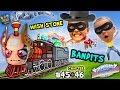 WISH STONE BANDITS!  Lets Play SKYLANDERS SUPERCHARGERS Chapter 45 & 46: Highway Robbery on a Train
