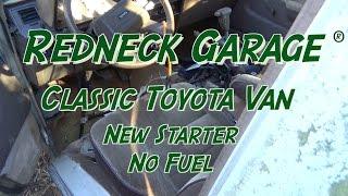 Toyota 1986 Van - Starting Issues - Rollin Again
