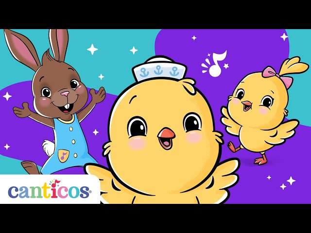 Canticos | Songs for creating good habits! | Bilingual Nursery Rhymes