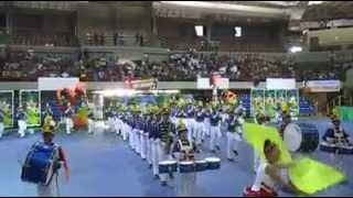 DiCNHS MARCHING BAND - INTRO Araw ng Davao del Sur Champion