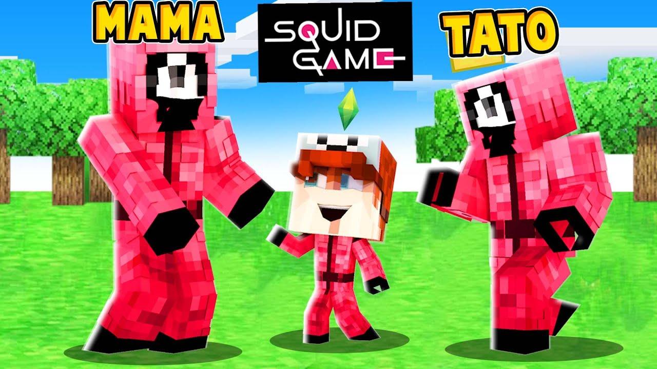 ZOSTAŁEM ADOPTOWANY PRZEZ STRAŻNIKÓW ZE SQUID GAME! (Minecraft Roleplay)   Vito i Bella