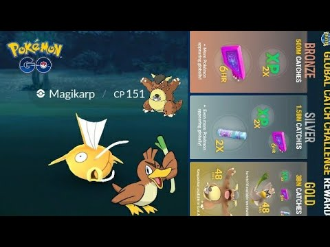 Download Youtube: Travel Catch Challenge Results So Far - ANOTHER SHINY MAGIKARP!!! Pokemon GO