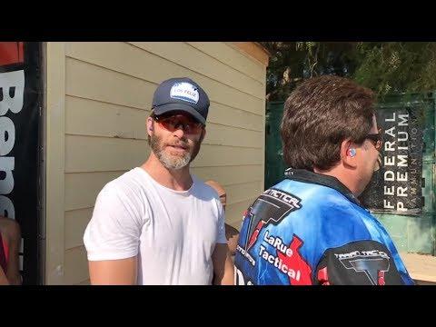 Captain Kirk Chris Pine commands Taran to go Warp Speed