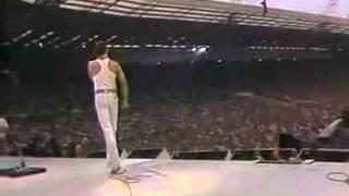 .Queen Live Aid Wembley Stadium 1985 GRANDIOSO FREDDIE