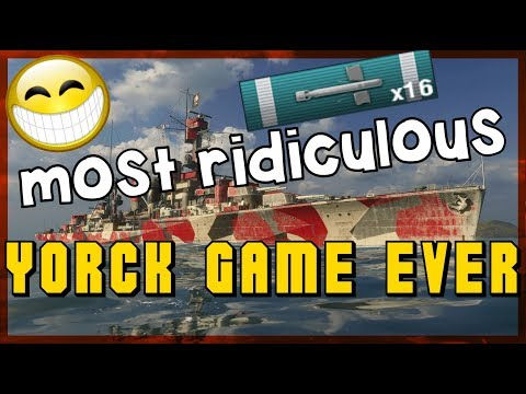 The most ridiculous Yorck game ever  || World of Warships