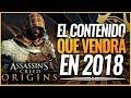Assassin's Creed Origins   TODO el CONTENIDO DLC que VEREMOS EN 2018 y el visto desde su lanzamiento