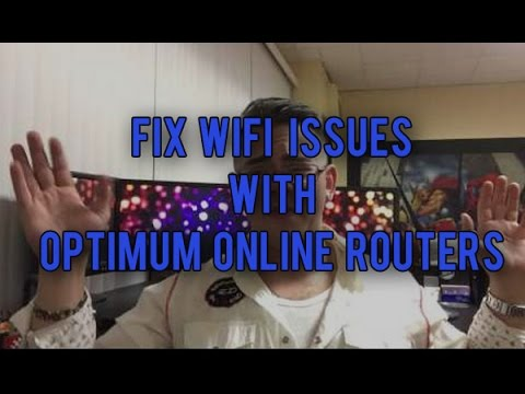 Fix WIFI Issues With Your Optimum Online Router!!