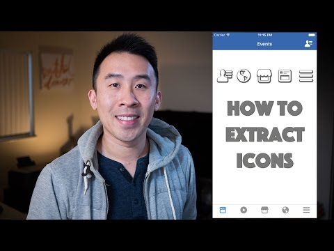 How to Extract Icons from Apps using Photoshop