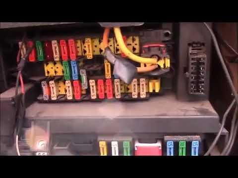 Citroen berlingo fuse box relay location - YouTube