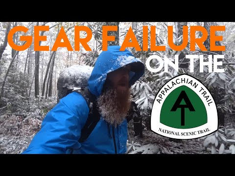 Gear Failure On The Appalachian Trail! (4K)