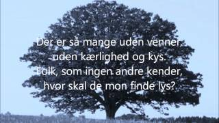 Repeat youtube video Livstræet - m. lyrics