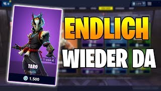 ENDLICH BACK DA Taro Skin 💮😄 Fortnite Shop Today 25.2 | Item Shop 25 February 🛒