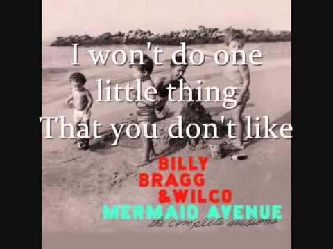 Billy Bragg & Wilco - Don't You Marry (with lyrics)