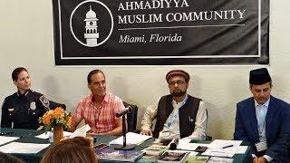 Annual Interfaith Iftar Dinner at Baitul Naseer Mosque Hallandale Beach Florida