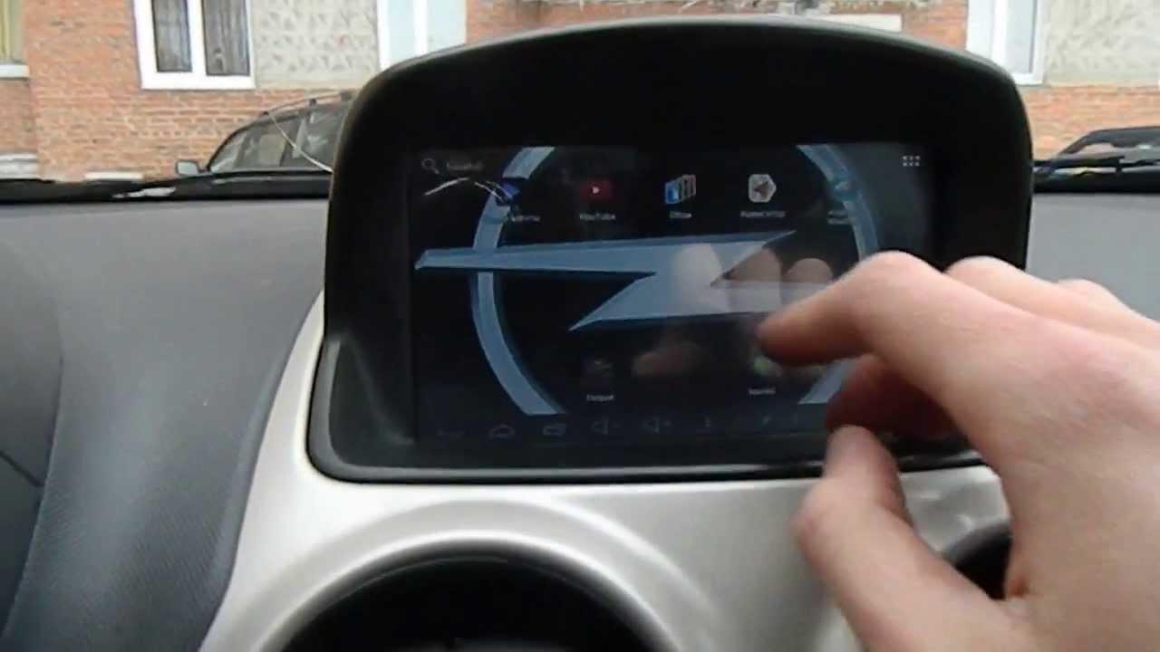 Выдвижной планшет в авто своими руками