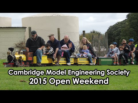 2015 Open Weekend | Cambridge Model Engineering Society