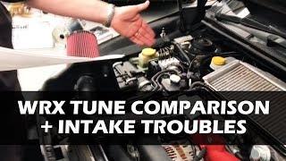 STi Tune Comparison + Intake Troubles