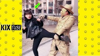 Watch keep laugh EP519 ● The funny moments 2019