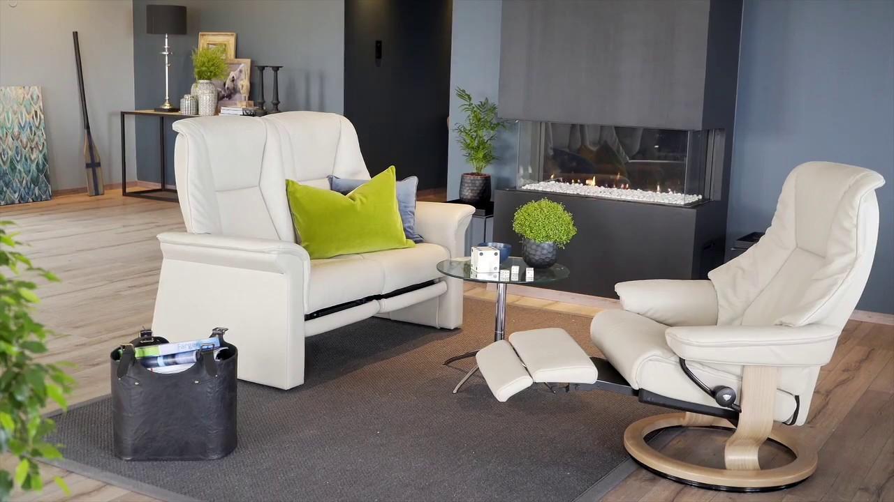 Relaxsessel stressless  Stressless Legcomfort Produktdemonstration | HOUSE OF COMFORT ...