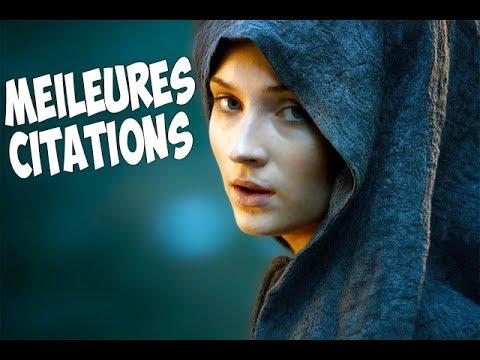 [GAME OF THRONES] Meilleures Citations De Sansa Stark