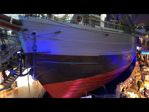 A tour of the Polar Ship Fram Museum, Oslo, Norway