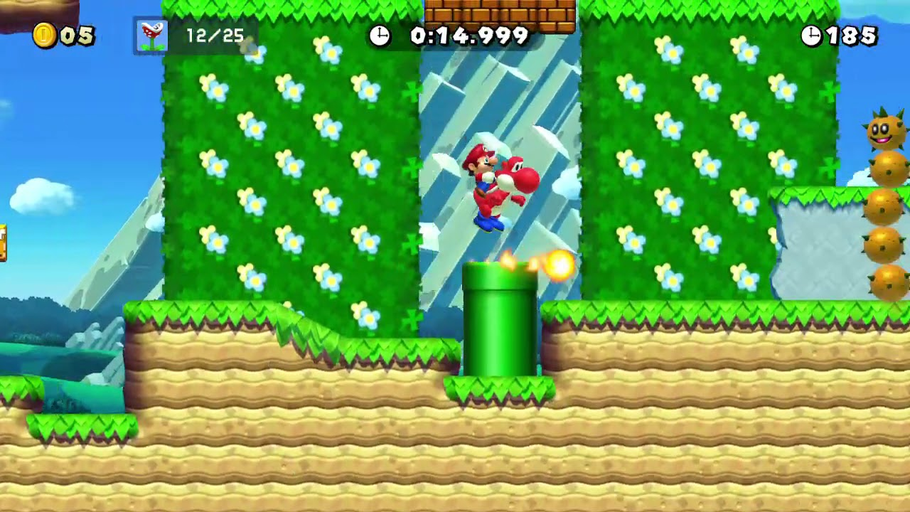 Yoshi's Piranha Plant Picnic in 29.452 sec - Ninji Speedruns