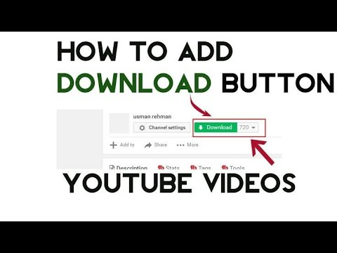How To Add Download Button On Youtube Videos Without IDM Urdu/Hindi