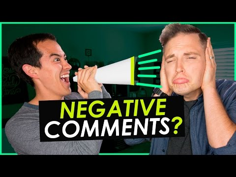 How to Deal with Negative Comments on YouTube — 5 Tips