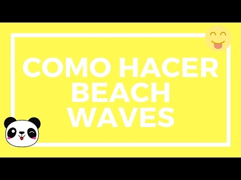 COMO HACER UNAS BEACH WAVES SENCILLAS |Makeup Panamanian Girl|