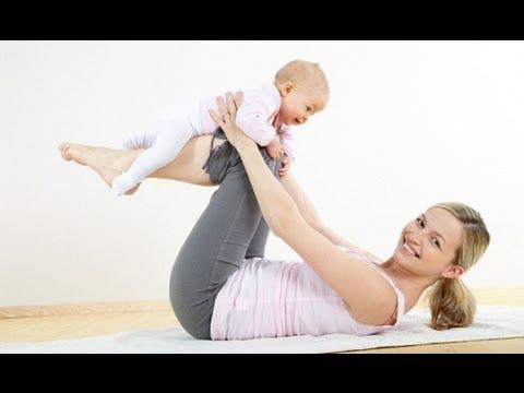 Смотреть видео мамочки на фитнесе