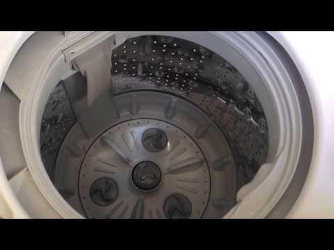 Washing Machine Tub Cleaning Process