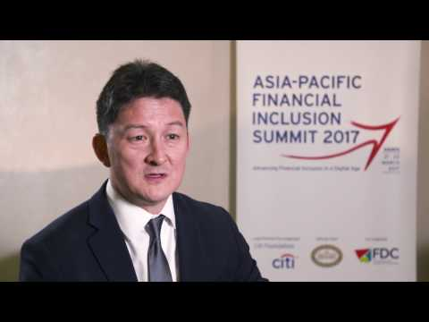 Gregory Chen - Asia Pacific Financial Inclusion Summit 2017