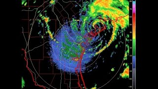 "6/16/2015 -- Tropical Storm ""BILL"" hits Texas -- Midwest flooding to come soon"