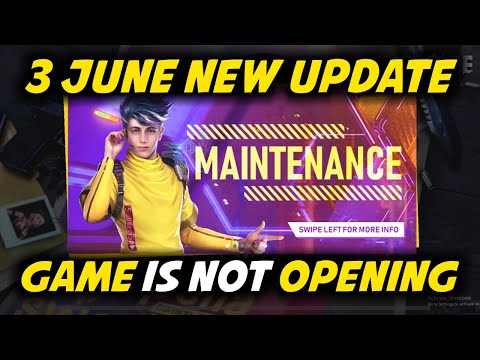 Free Fire June All New Upadate, Game Is Not Opening - Garena Free Fire 2020