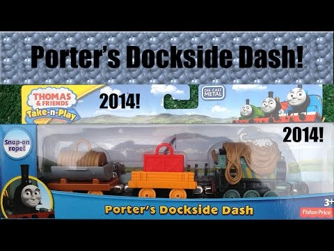 new-thomas-&-friends-tale-of-the-brave-take-n-play-porter's-dockside-dash!