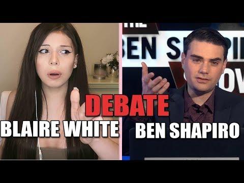DEBATE: Ben Shapiro & Blaire White