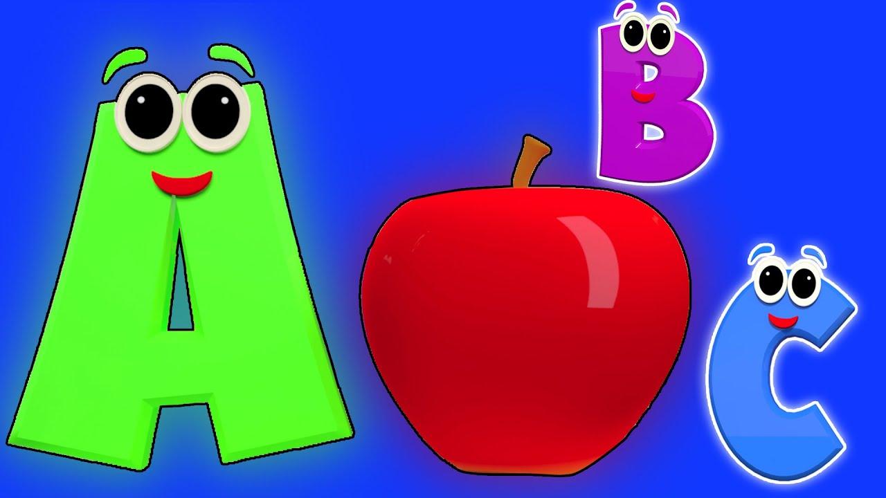 fonik lagu | ABC song | abjad untuk kanak-kanak | belajar ...