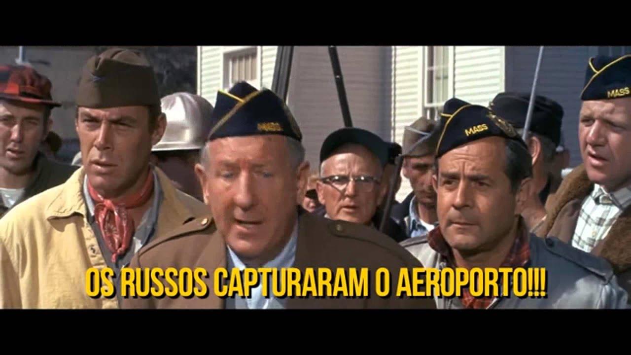 Filmes Russos in os russos estão chegando! os russos estão chegando! (1966) - youtube