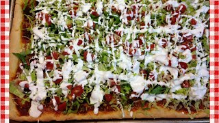 Taco Pizza Recipe ~ Noreen's Kitchen