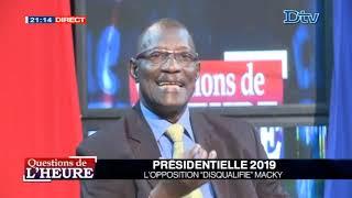 Question de l'Heure du mercredi 23 janv. 2019 Présidentielle 2019 l opposition disqualifie MAKY